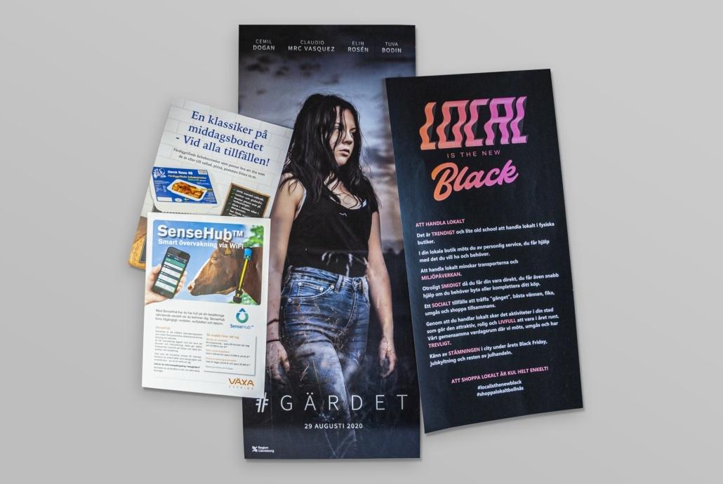 Flyers & Affischer
